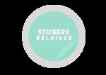 Stickers Belgique création impression d'autocollants